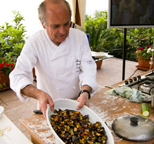 Cooking classes Capri Villas